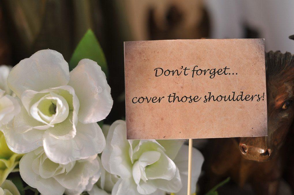 Siobhan's Italian wedding planning tips #2