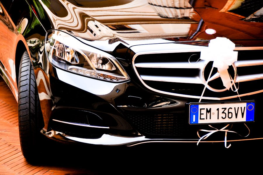 Luxury cars for Rome weddings