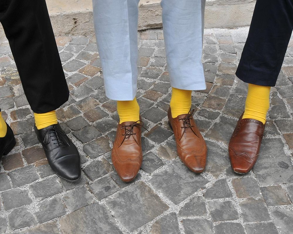 Mellow Yellow Wedding in Assisi