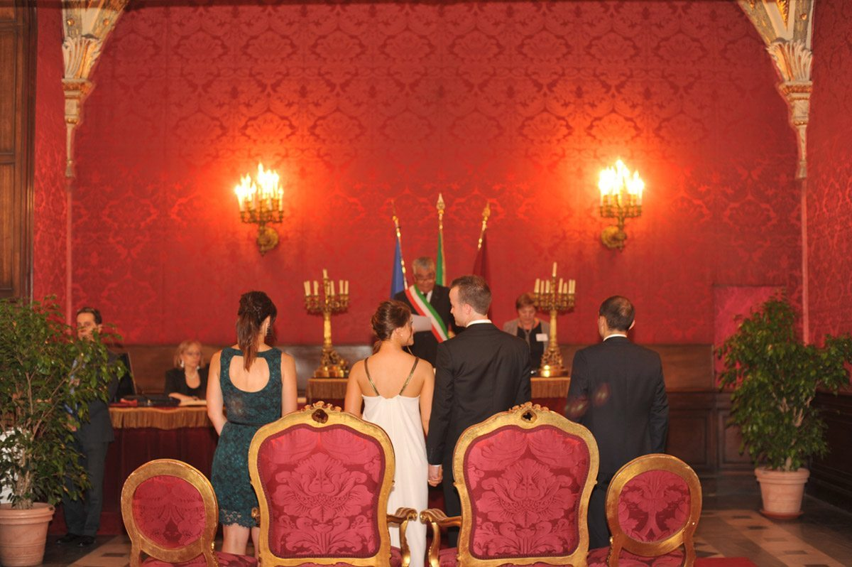 Civil wedding ceremonies in Rome