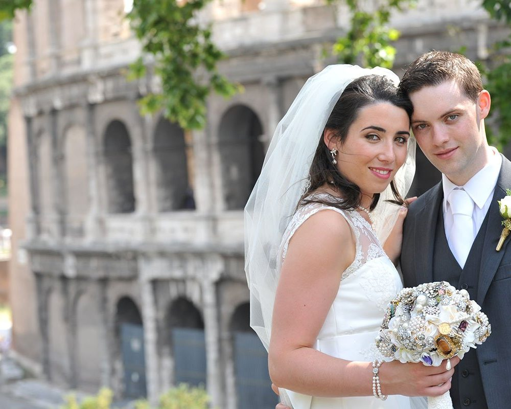 Our Wedding in Rome by Rachel Fagan