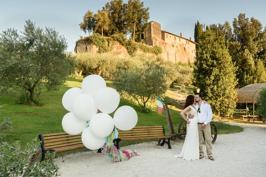 Annmarie and Jon - Wedding at Borgo di Tragliata Rome