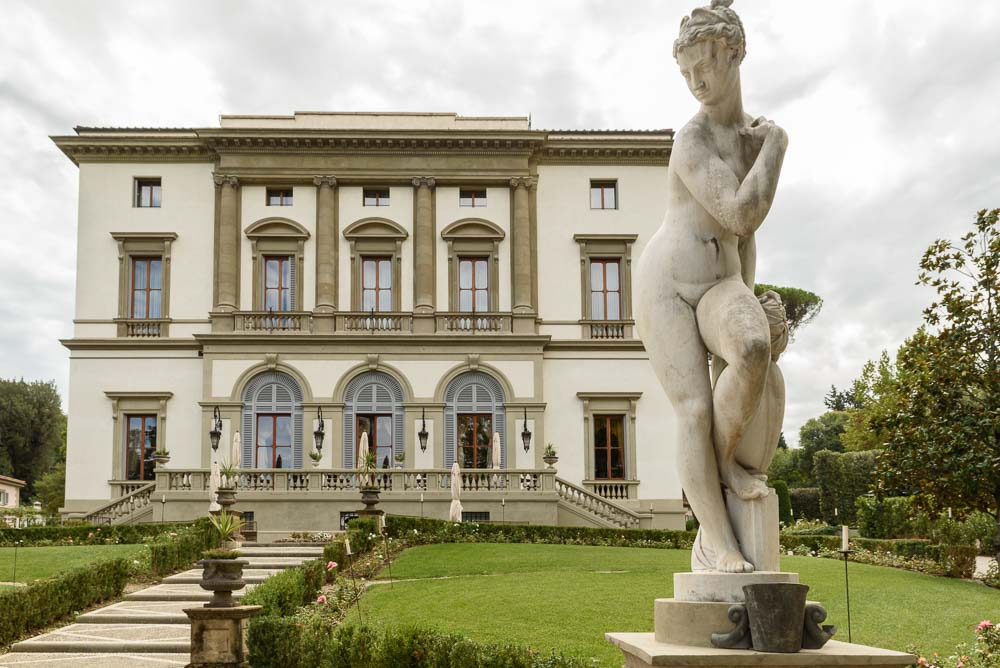 View over Florence in Italy