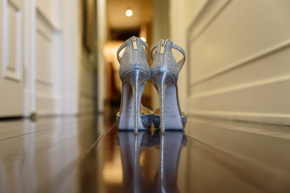 Bride to be looking over Florence Italy