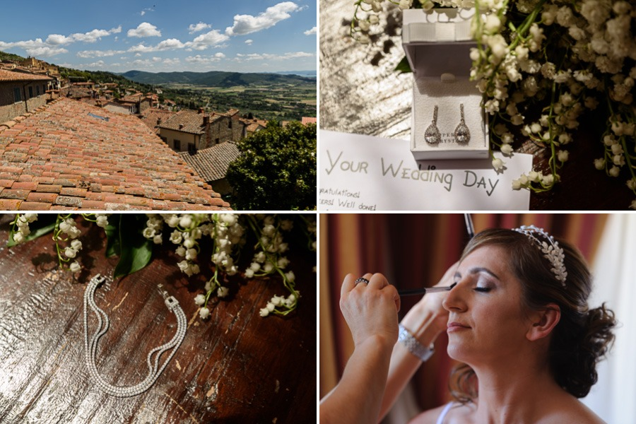 wedding in Cortona Tuscany